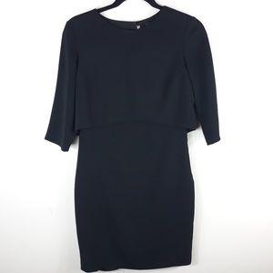 Cynthia Steffe| Shira black sheath dress A204
